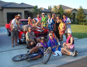 Everyone got laied at the BH3 Tropical Run 2007