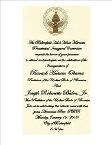 Obama Is Your Momma Presidential Inaugural Run
