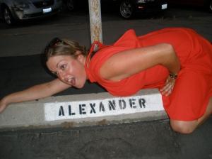 Humping Alexander